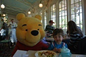 Ethan and Winnie The Pooh