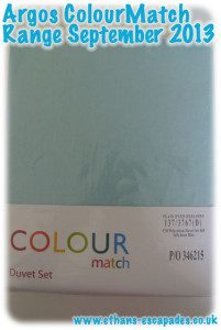 Argos ColourMatch Range Jellybean Blue