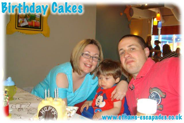 Legoland Windsor Birthday Cake