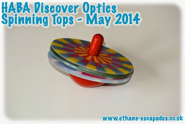 HABA Discover Optics Spinning Tops