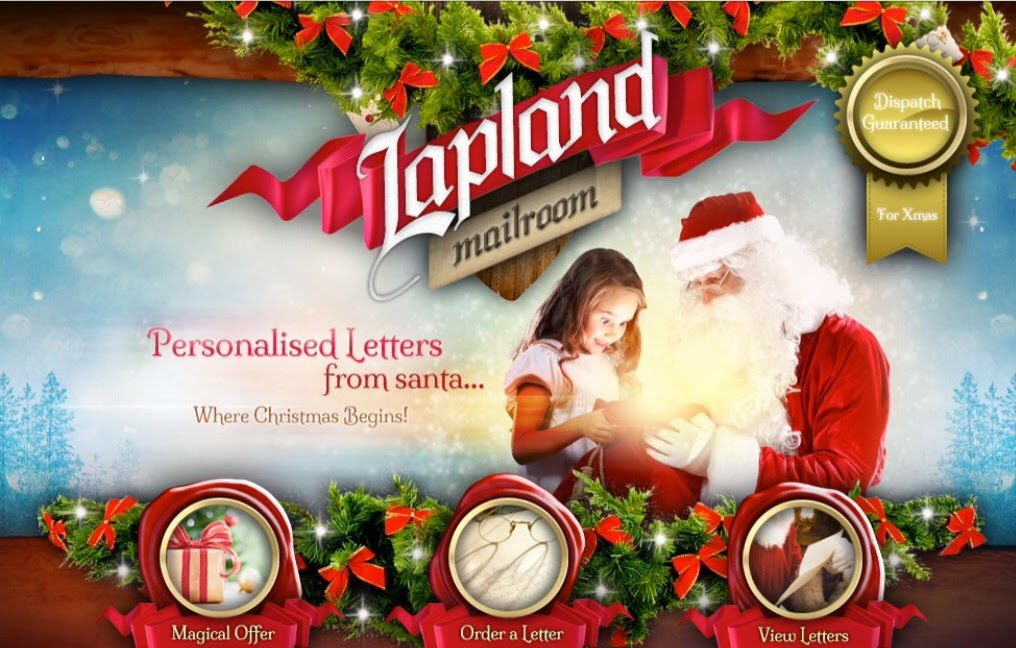 A Letter From Santa - Personalised Letters From The Lapland Mailroom