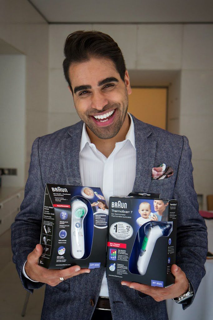dr ranj braun thermometers cold and flu Season tips