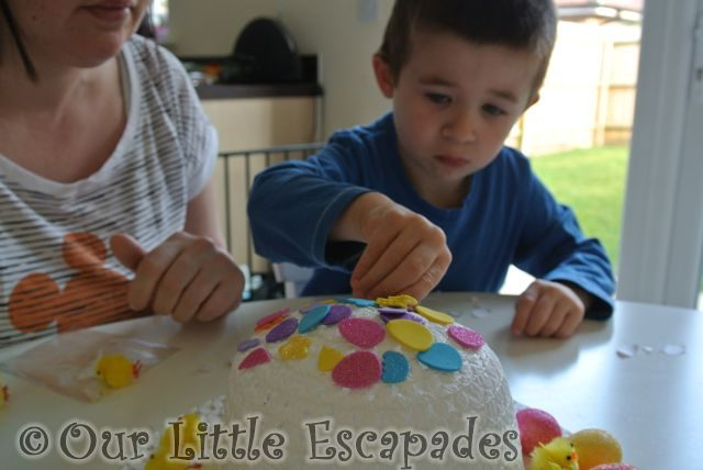 Making Our Easter Bonnet