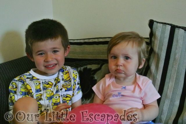 ethan grumpy little e one year old