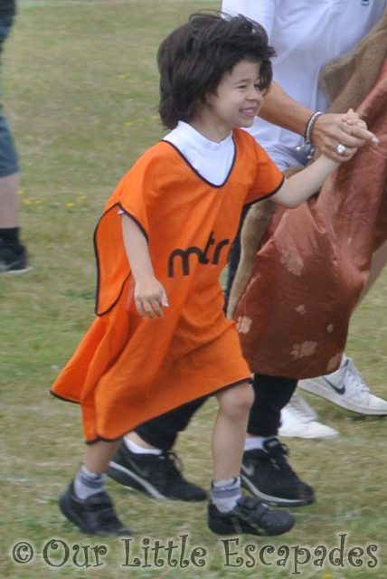 ethan wig race first school sports day