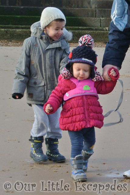 ethan little e walking beach frinton-on-sea