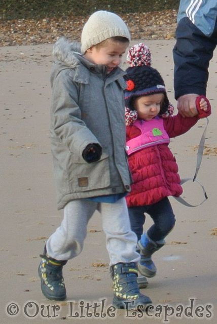 ethan little e walking holding hands frinton-on-sea
