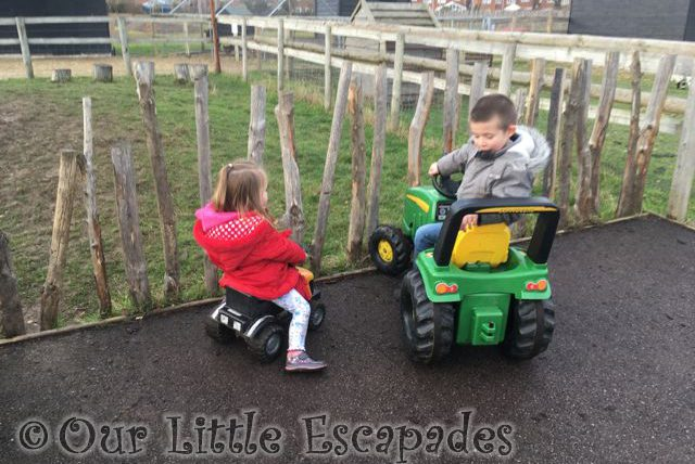 ethan little e ride on tractors