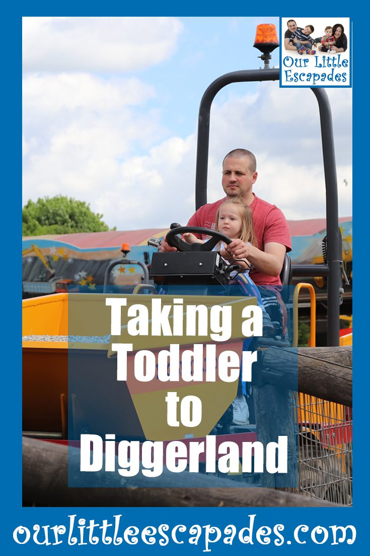 taking a toddler to diggerland