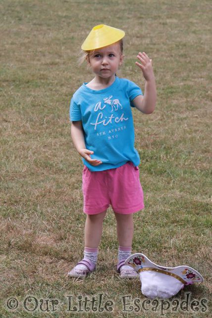 Little E's first sports day
