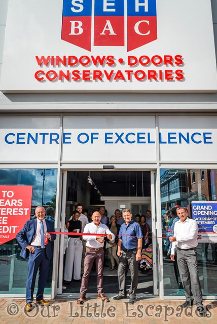 dominic littlewood seh bac showroom colchester grand opening