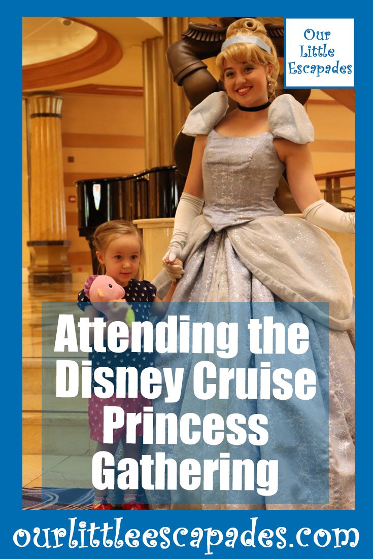 attending disney cruise princess gathering