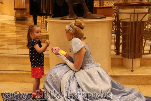 little e cinderella disney cruise princess gathering