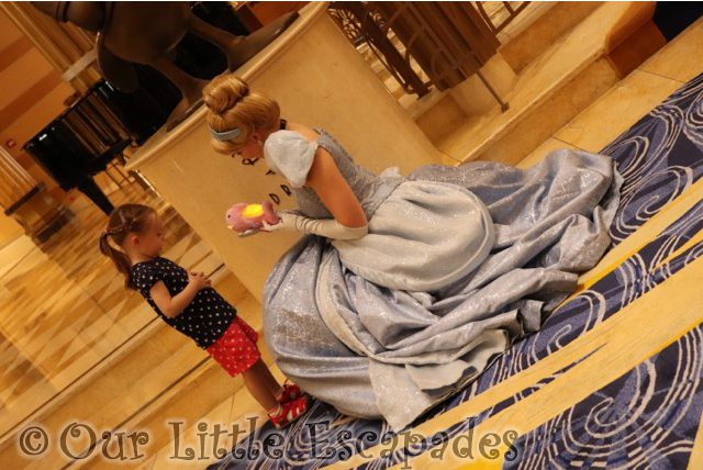 little e cinderella sea horse disney cruise princess gathering