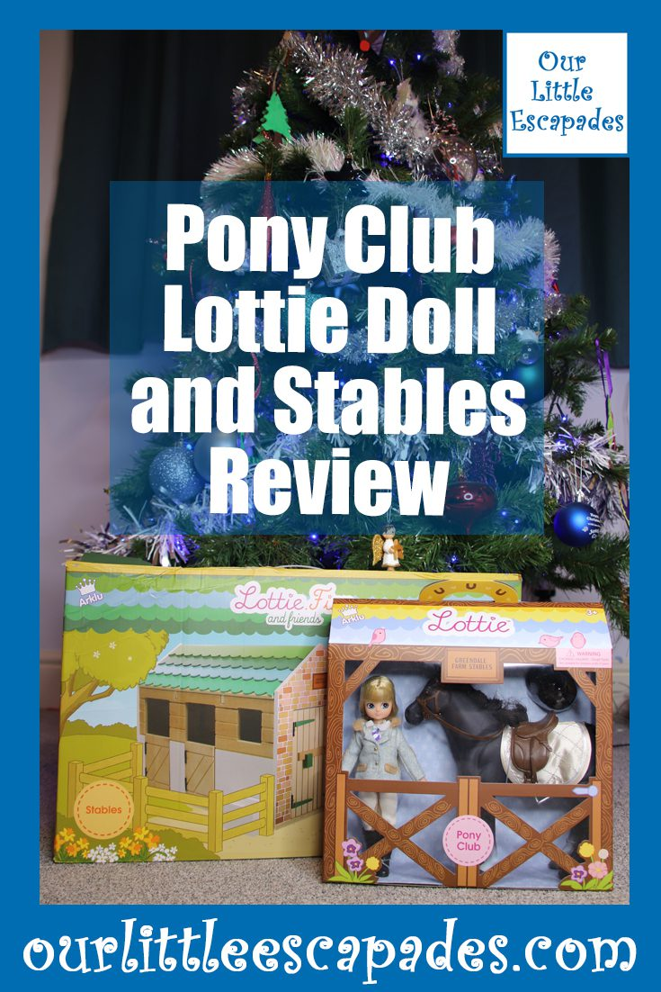 pony club lottie doll and stables review