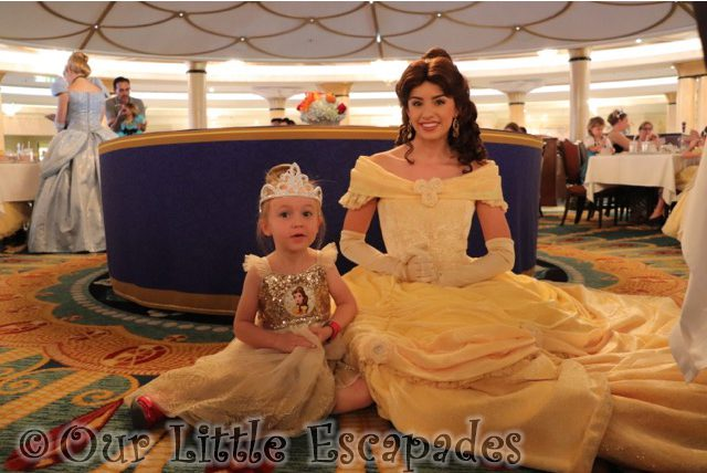 Taking My Little Princess to the Disney Cruise Royal Court Royal Tea