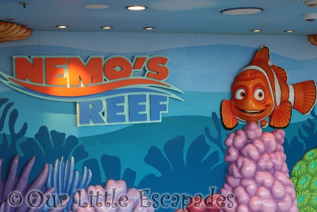 Nemo's Reef on the Disney Dream