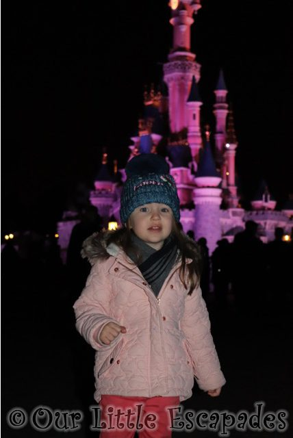 little e disneyland paris sleeping beauty castle