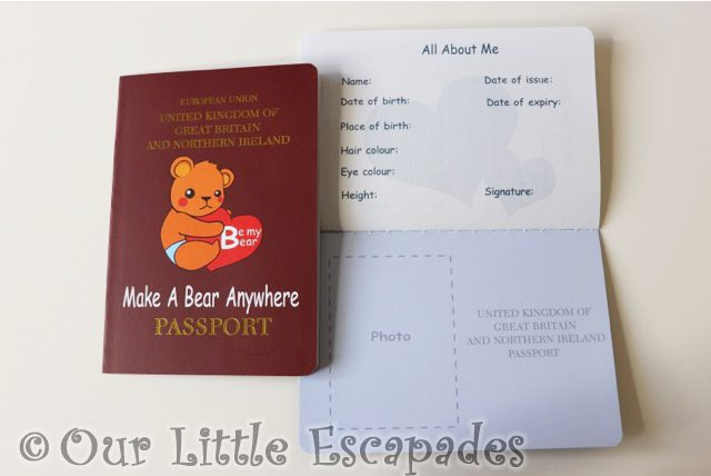 be my bear make bear anywhere passport about
