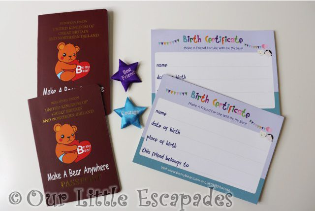 be my bear passport birth certificate