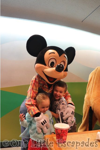 ethan little e farmer mickey mouse garden grill epcot walt disney world