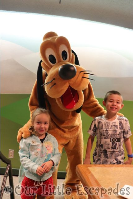 ethan little e pluto garden grill epcot walt disney world