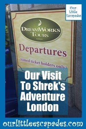 our visit to shrek's adventure london