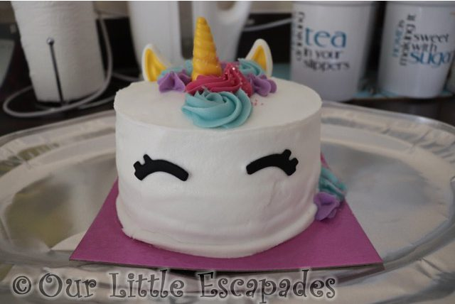 unicorn cake asda