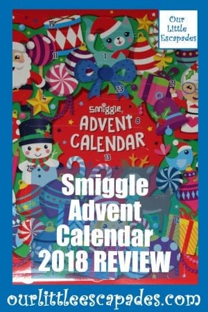 Smiggle Advent Calendar 2018 REVIEW