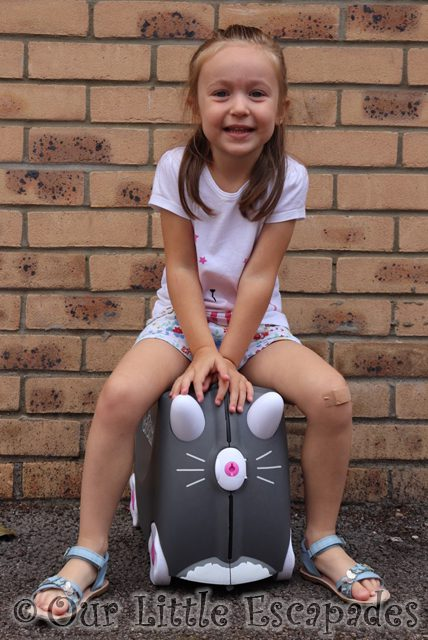 benny the cat trunki ride on