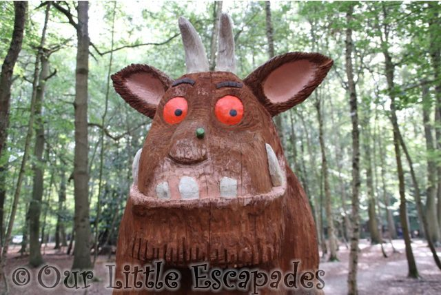 gruffalo trail gruffalo thorndon country park