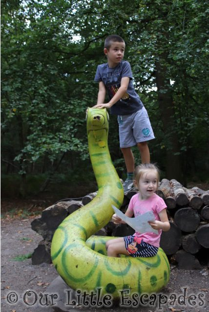 gruffalo trail snake thorndon country park