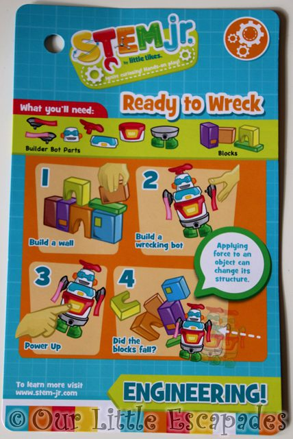 ready to wreck instructions