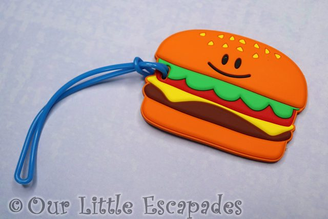 smiggle advent calendar contents hamburger silicone bag tag