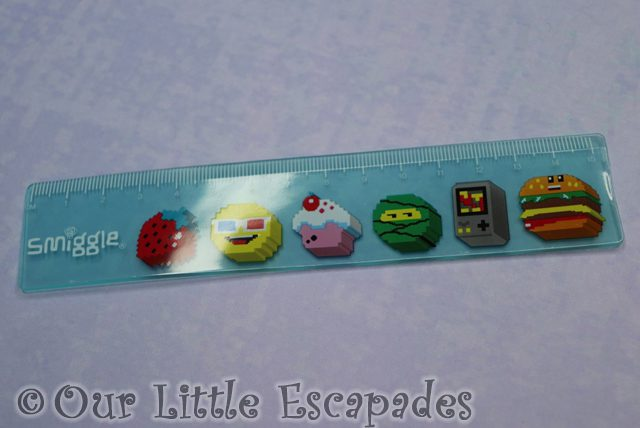 smiggle advent calendar contents ruler