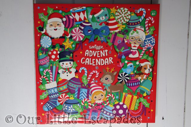 Smiggle Advent Calendar 2018 REVIEW Unboxing The Contents