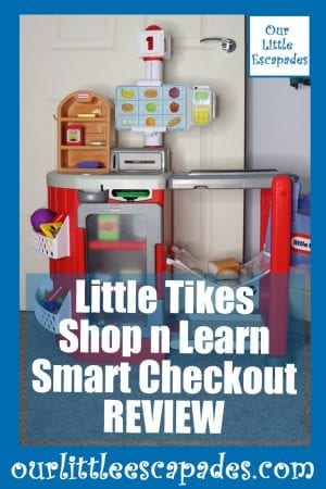 Little Tikes Shop n learn Smart Checkout REVIEW