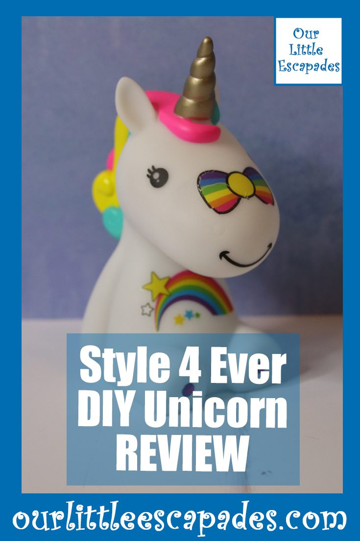 Style 4 Ever DIY Unicorn REVIEW