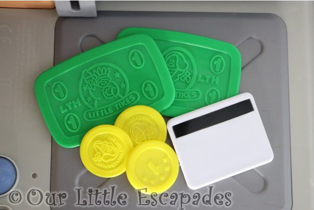 little tikes bank notes coins credit card little tikes shop n learn smart checkout