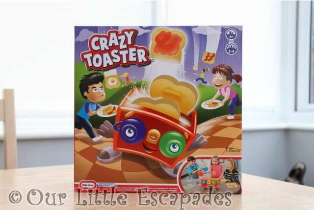 little tikes games crazy toaster
