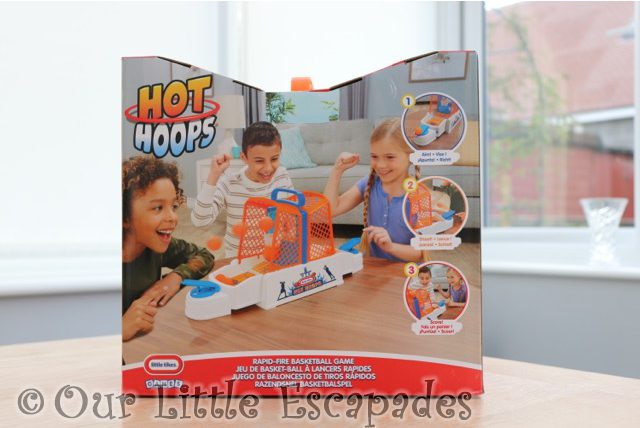 little tikes games hot hoops