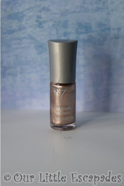 no7 beauty advent calendar No7 Gel finish Nail Colour Golden Sands