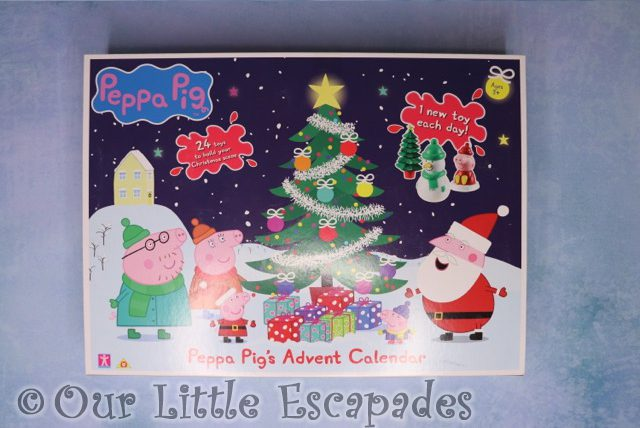 Peppa Pig Advent Calendar 2018 REVIEW Unboxing The Contents