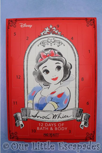 snow white christmas gifts disney snow white 12 days beauty advent calendar