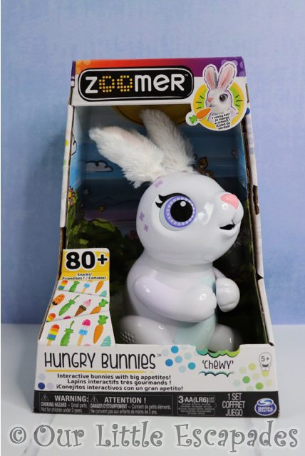 zoomer hungry bunnies chewy boxed