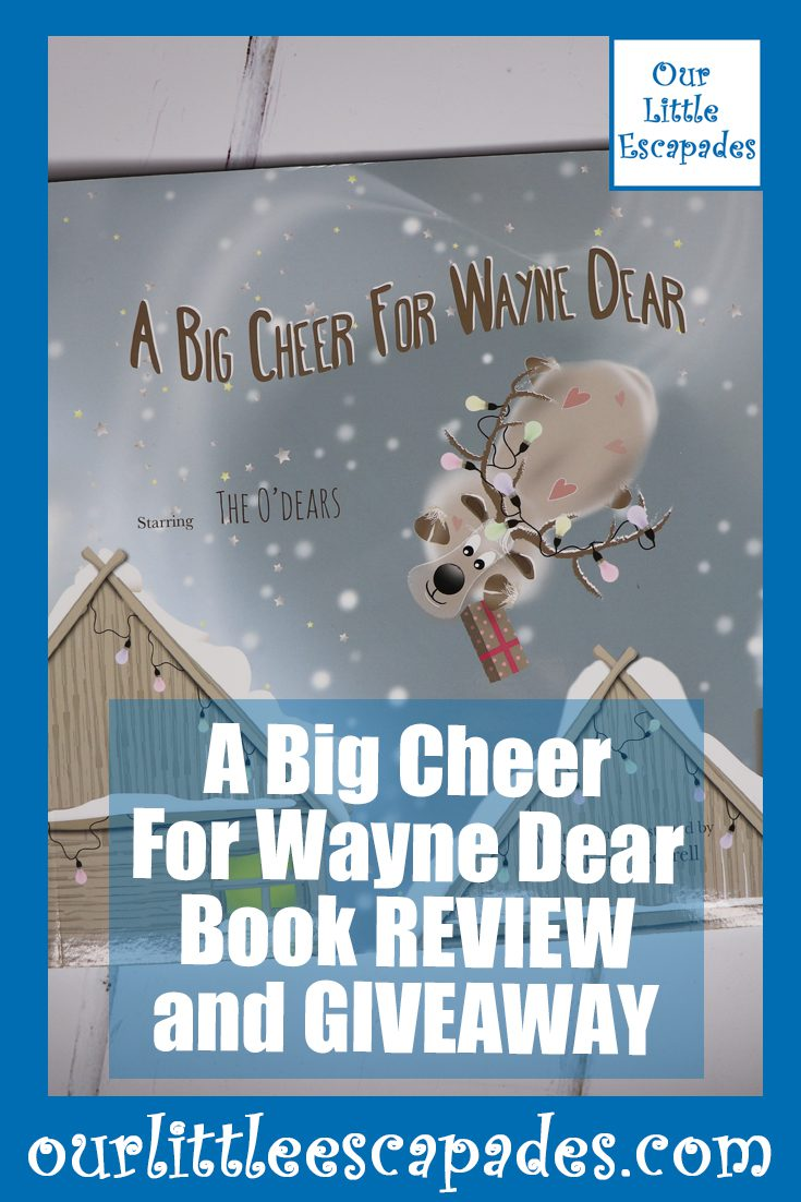 A Big Cheer For Wayne Dear Book REVIEW and GIVEAWAY