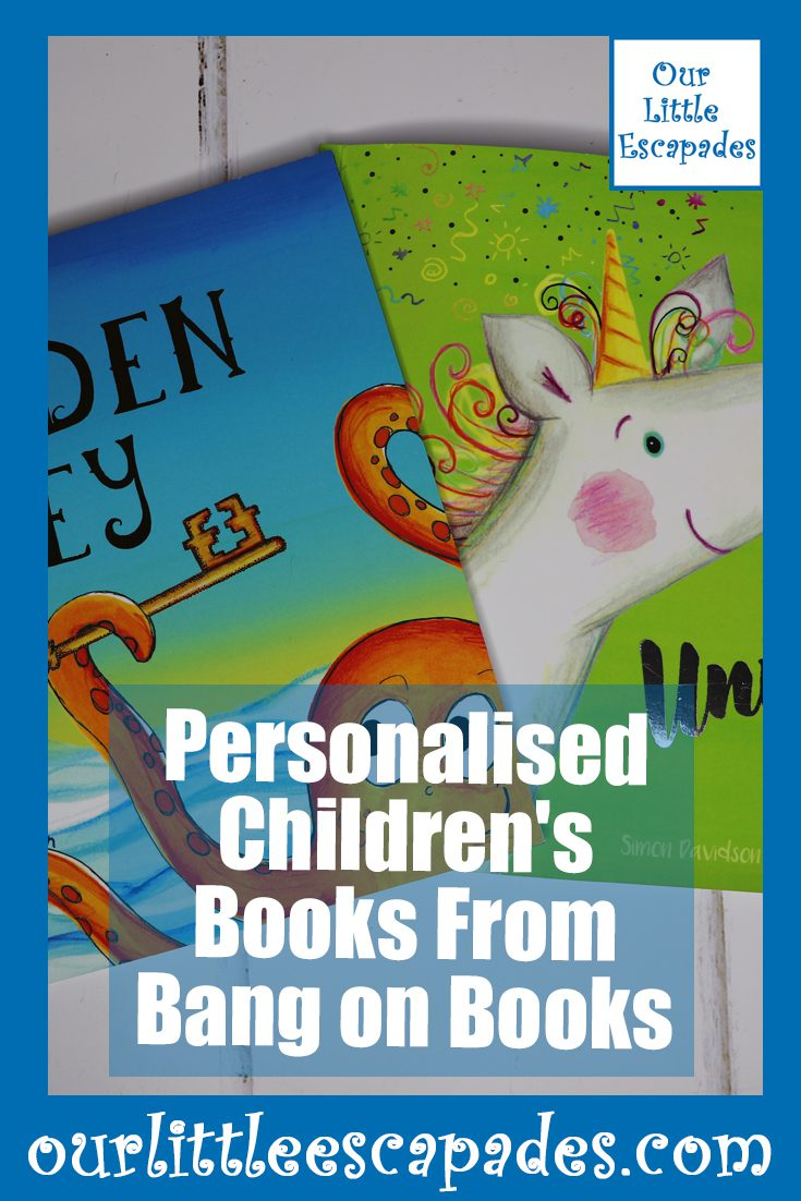 Personalised Childrens Books From Bang on Books