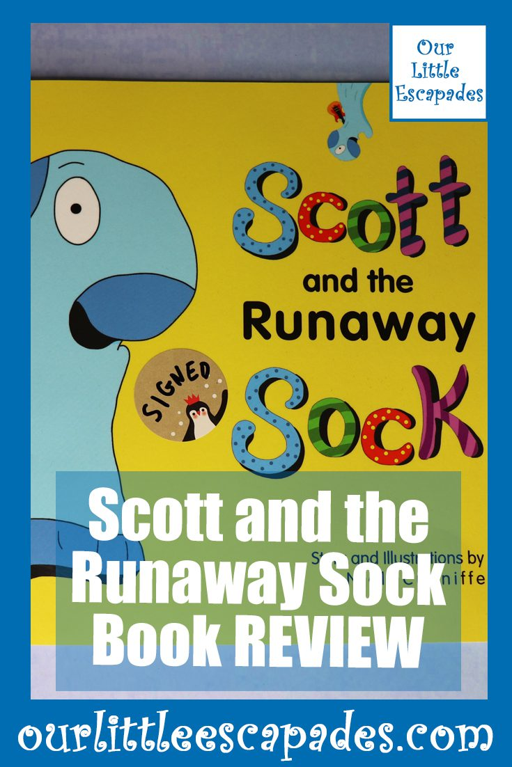 Scott and the Runaway Sock Book Review