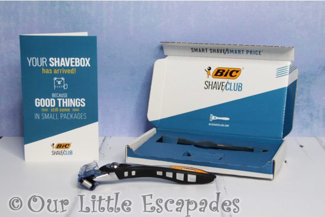 christmas gifts him bic shave club starter set