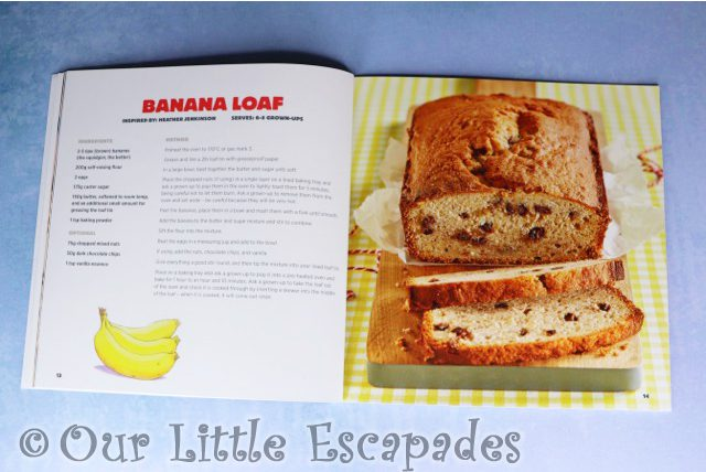 learn to cook with billy the bear banana loaf